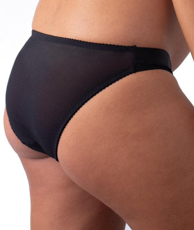 hotmilk Project Me Warrior Bikini Brief - Black Knickers