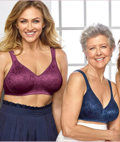 Playtex 18 Hour Ultimate Lift & Support Wire-Free Bra - Galactic Red