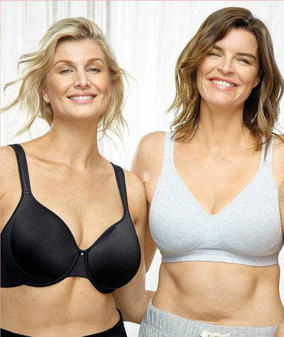 Playtex Perfect Lift Underwire Bra - Black Bras