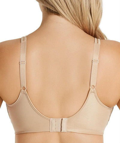 Playtex Side Support and Smoothing Minimiser Bra - Nude