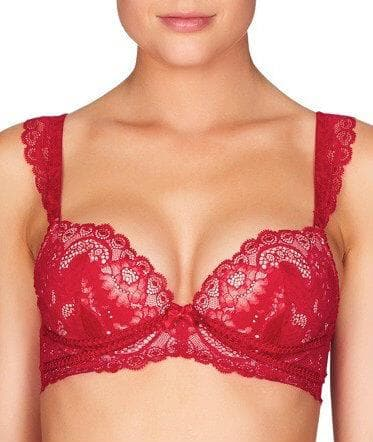 Pleasure State Gaia Geisha Push-Up Plunge Bra - Jester Red Bras