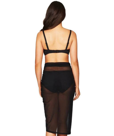 Sea Level Essentials Mesh Swim Wrap - Black Swim