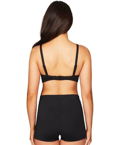 Sea Level Essentials The Katie Boyleg Swim Pant - Black Swim