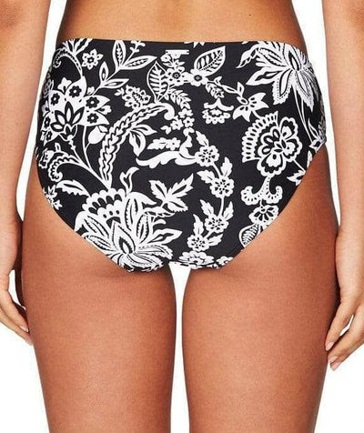 Sea Level Lotus Mid Bikini Brief - Black Swim