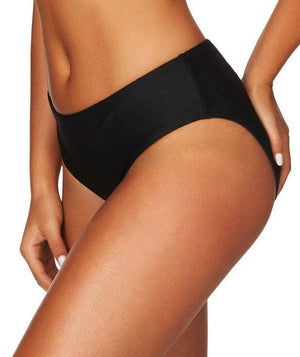 Sea Level Majorca Mid Bikini Brief - Black Swim