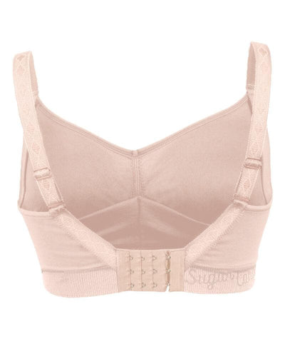 Sugar Candy Fuller Bust Seamless F-HH Cup Lounge Bra - Nude Bras