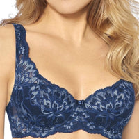 Triumph Amourette Charm Padded Bra - Blue - Dark Combination