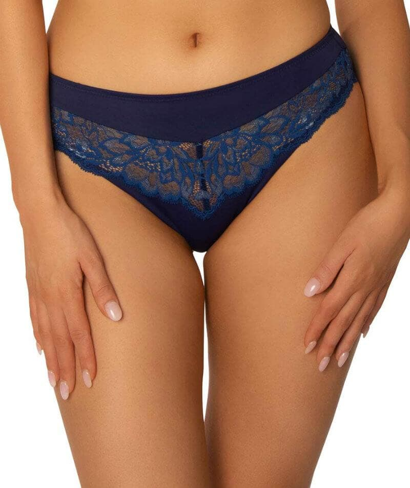 Triumph Amourette Charm Tai Brief Blue Dark Combination Curvy