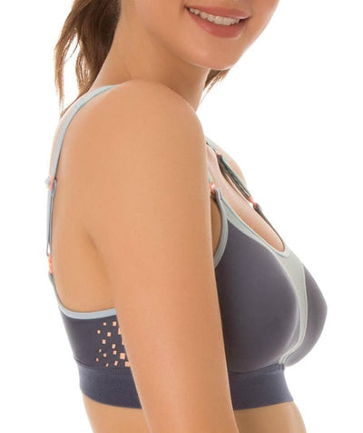 Triumph Triaction Extreme Lite Sports Bra - Dark Sea Bras