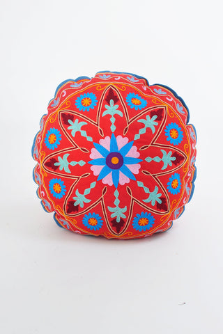 Lazar Suzani Circle Cushion