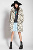 Snow Leopard Faux Fur CoatJUST SOLD   OUT :(