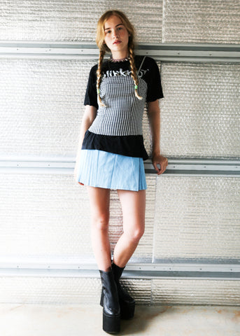punk picnic bodice top SOLD OUT
