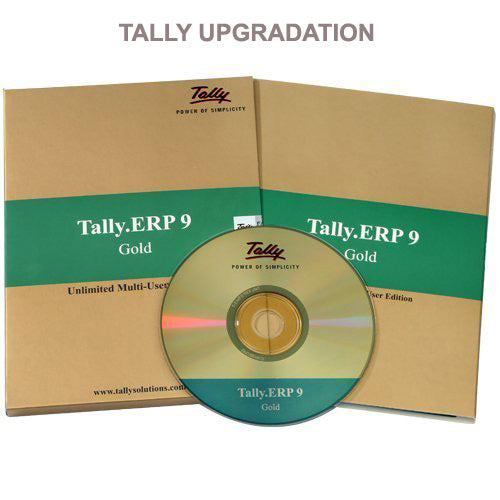 Tally ERP 9 Silver to Tally ERP 9 Gold
