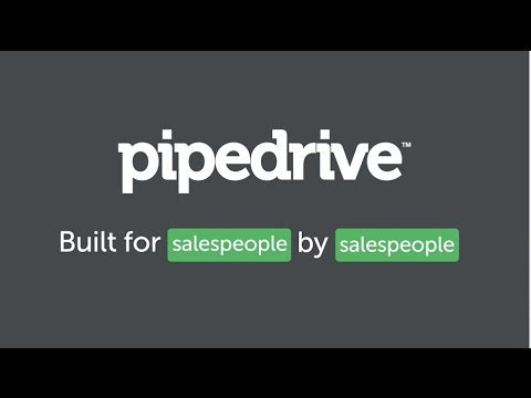 Pipedrive CRM (per month subscription)
