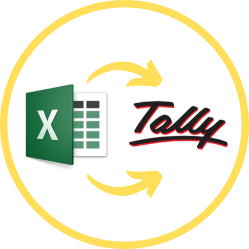 Dynamic Excel to Tally  Import - Three Template