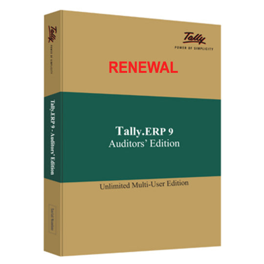 Tally Erp 9 Auditor Edition Net Renewal
