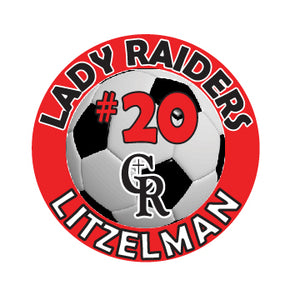 Cardinal Ritter Girls Soccer Car Decal