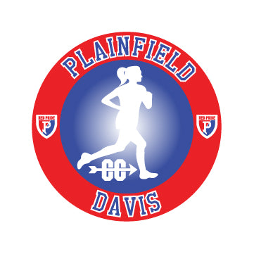 Plainfield Cross Country Car Decal