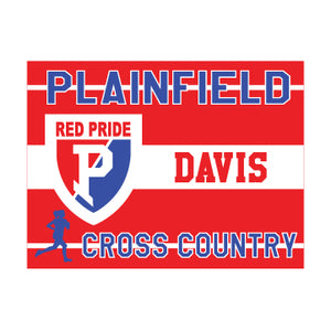 Plainfield Cross Country Yard Sign