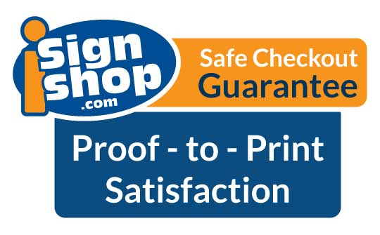 Our guarantee for a safe checkout on our website