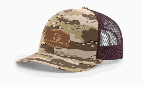GunnarMade Green Camo Richardson Trucker Hat