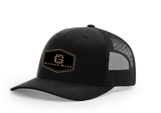 GunnarMade Black Richardson Trucker Hat