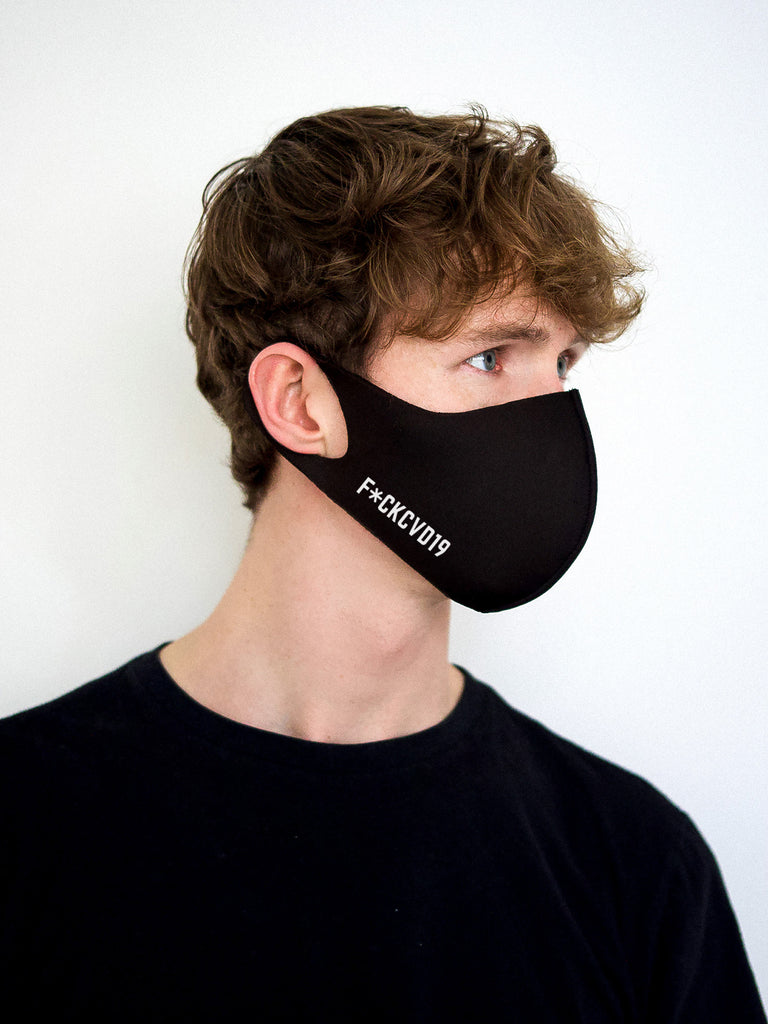 Black Neoprene Mask | F#CKCVD19
