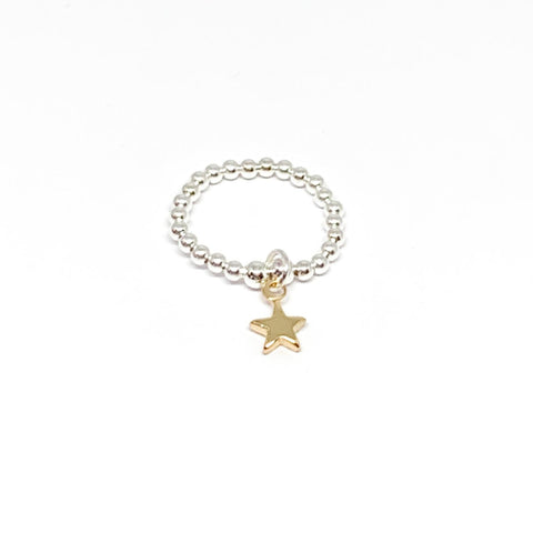 Rachel Star Ring - Gold