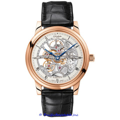 Glashutte Original Quintessentials Senator Skeleton Manual Wind 1-49-18-01-05-30