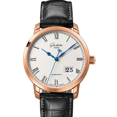Glashutte Original Quintessentials Senator Panorama Date 100-03-32-45-04