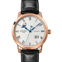 Glashutte Original Quintessentials Senator Panorama Date Moonphase 100-04-32-15-04