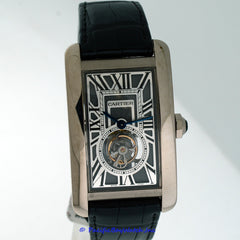 Cartier Tank Americaine Flying Tourbillon W2620007 Pre-Owned