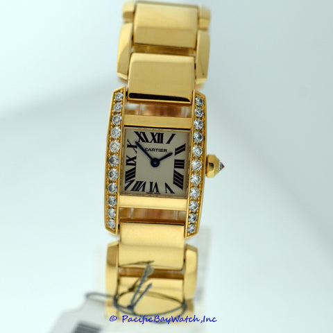 Cartier Tankissime Ladies Yellow Gold Pre-Owned