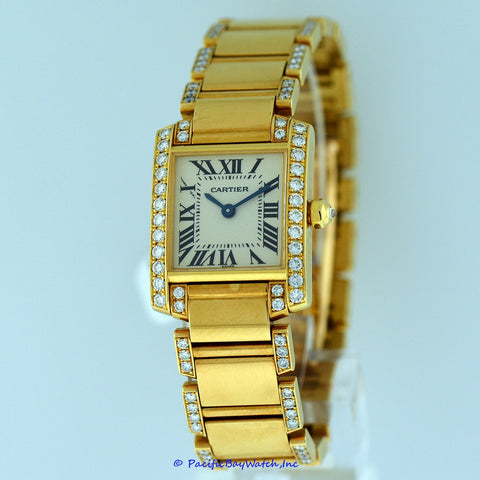 Cartier Tank Francaise Ladies Pre-Owned
