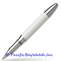 Montblanc Masters for Meisterstuck Porcelain White Rollerball Pen 106072