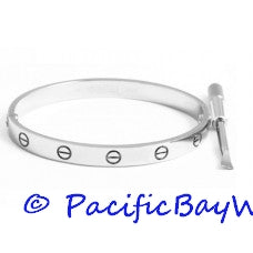 Cartier Love Bracelet 18k White Gold 16
