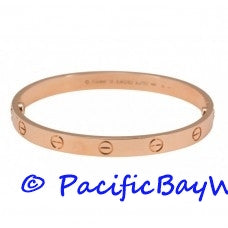 Cartier Love Bracelet 18k Pink Gold 18 Pre-owned
