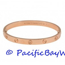 Cartier Love Bracelet 18k Pink Gold 21 Pre-owned