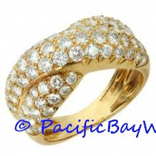 Van Cleef & Arpels Yellow Gold Diamond Ring