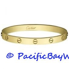 Cartier Love Bracelet 18k Yellow Gold 17 Pre-owned