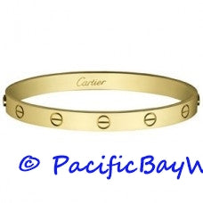 Cartier Love Bracelet 18k Yellow Gold 21