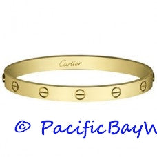 Cartier Love Bracelet 18k Yellow Gold 19 Pre-owned