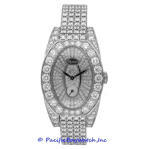 Chopard Classiques Ladies White Gold Diamond Watch 107001-1001