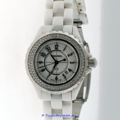 Chanel J12 33mm Diamond H0967 Pre-owned