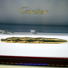 Cartier 18k Yellow Gold Pen
