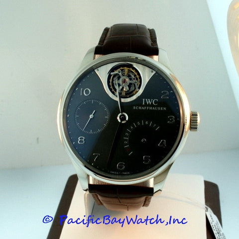 IWC Portuguese 7 Day Power Reserve Tourbillon 5042-07