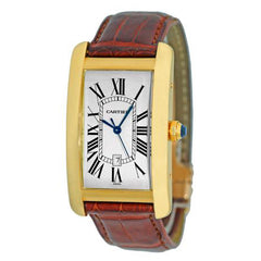 Cartier Tank Americaine Men's W2609156 Pre-Owned