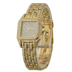 Cartier Panther All Diamonds Ladies Pre-Owned Watch