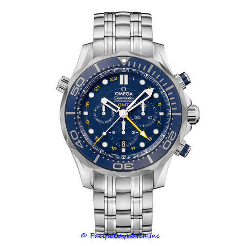 Omega Seamaster Diver Chronograph GMT 212.30.44.52.03.001