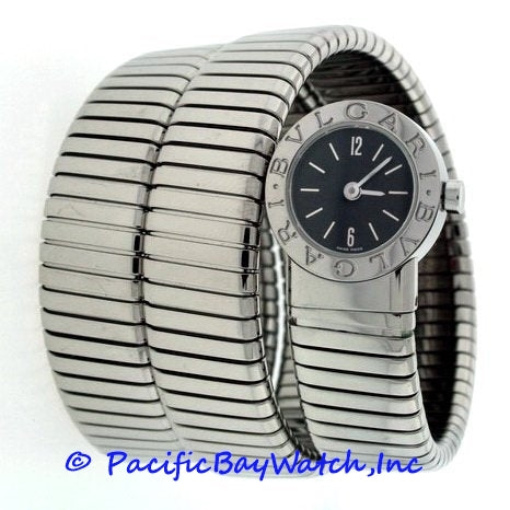 Bvlgari Tubogas Ladies BB.19.ITS Preowned